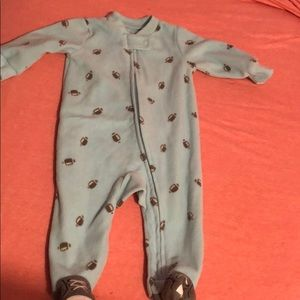 Carter's fleece onesie